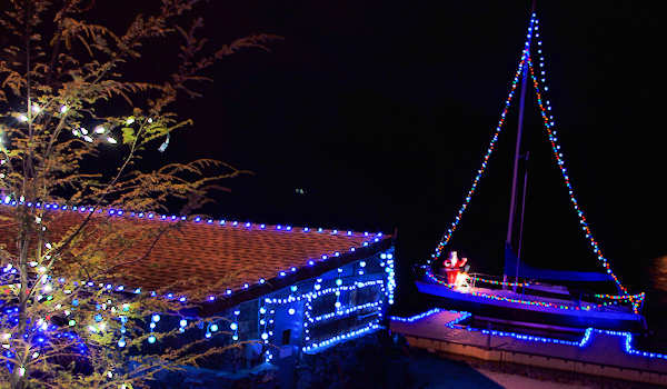 Lake Julian Christmas Lights