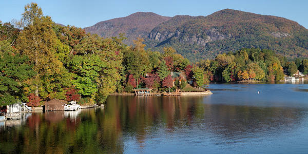 Lake Lure Highway 64
