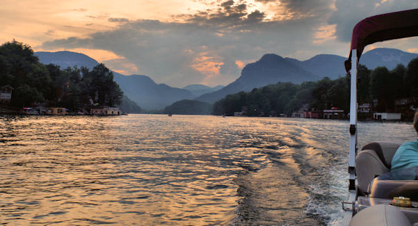 Lake Lure Sunset Cruise