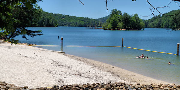 Lake Glenville Beach NC