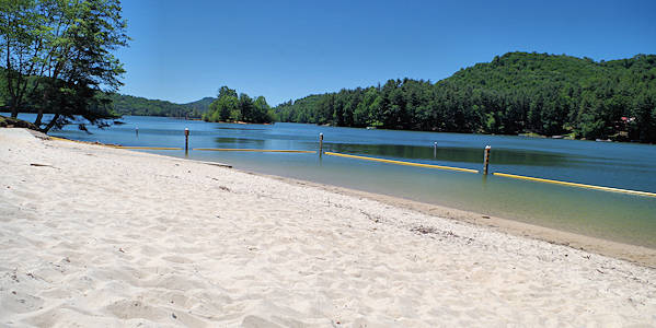 Lake Glenville Beach