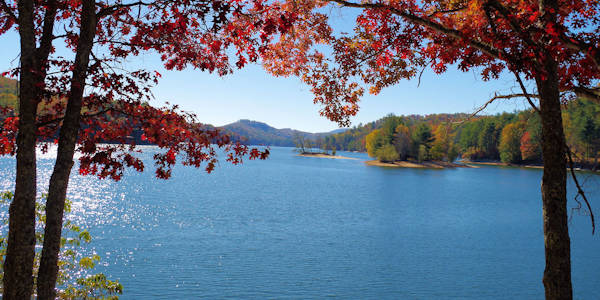 Lake Glenville Fall Color