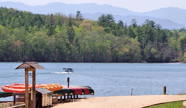 7 great lakes near asheville for Lake james nc fishing
