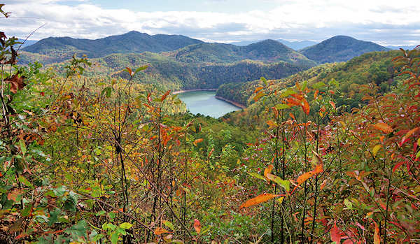 Lakeview Drive Overlook Fontana Lake