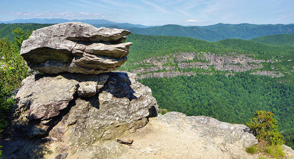 Chimney at Linville Gorge