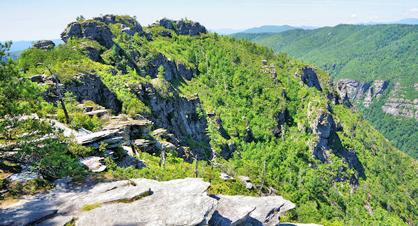 Linville Gorge Chimneys Hike