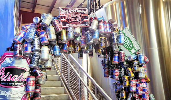 Oskar Blues Brewery, Brevard NC