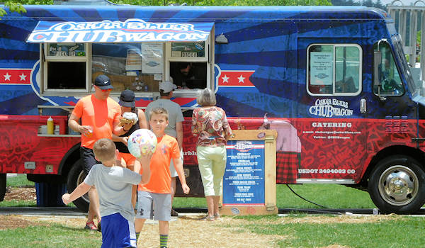 Oskar Blues Chubwagon Food Truck