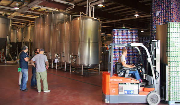 Oskar Blue Brewery Tours