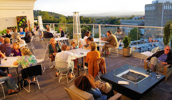 6 Downtown Asheville Rooftop Bars