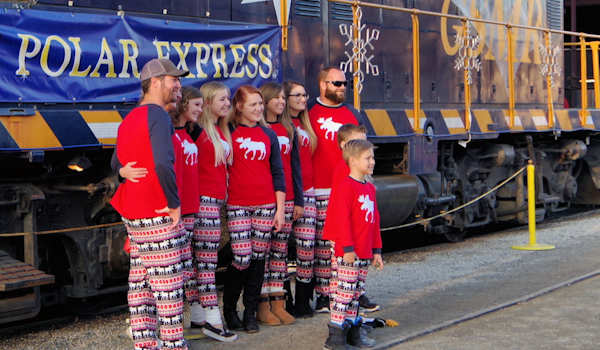 Polar Express Train PJs