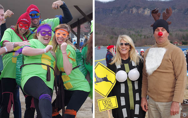 Lake Lure Polar Plunge