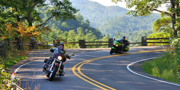 The Rattler Motorcycle Drive NC