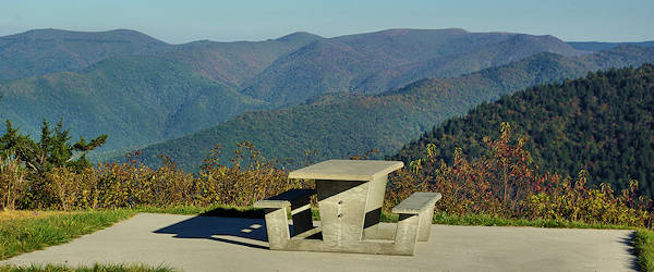 Picnic on the Blue Ridge Parkway