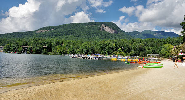 Rumbling Bald Beach Lake Lure