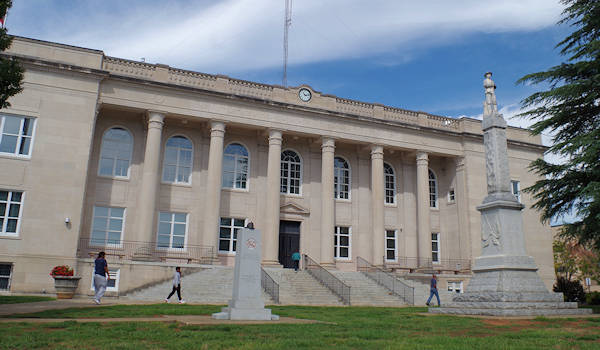 Rutherford County NC Courthouse