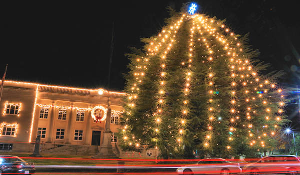 Rutherfordton Christmas Tree