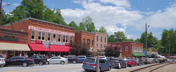 Saluda Nc Cool Mountain Small Town