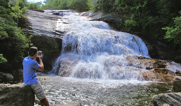 Graveyard Fields Hike & Waterfall, North Carolina