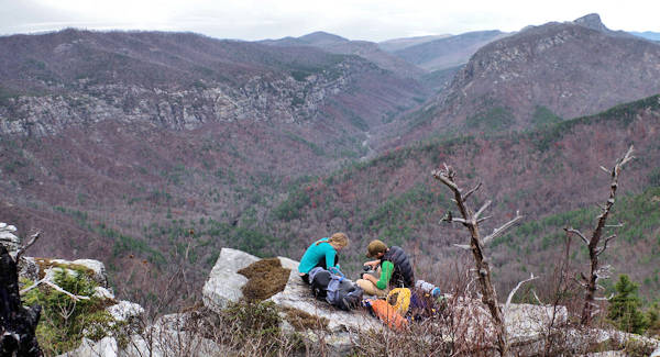 Shortoff Mountain Hike, Linville Gorge