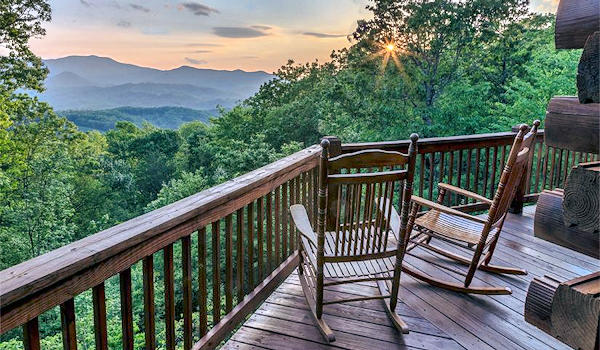 Smoky Mountains Cabins Mountain Views
