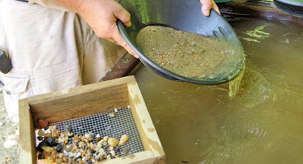 Thermal City Gold Panning