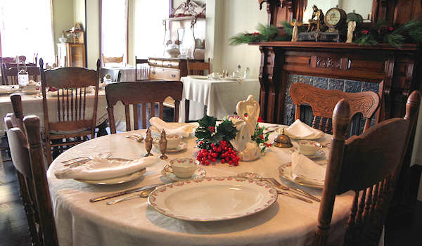 Thomas Wolfe House Dining Room