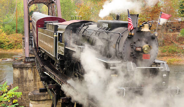 Great Smoky Mountains Railroad Scenic Train