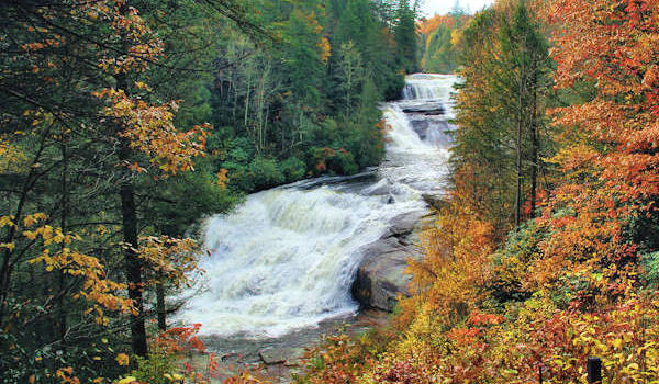 Triple Falls Autumn