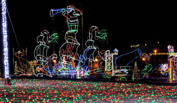 Tryon Light Show