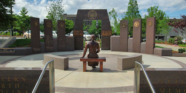 Veterans Memorial, Asheville