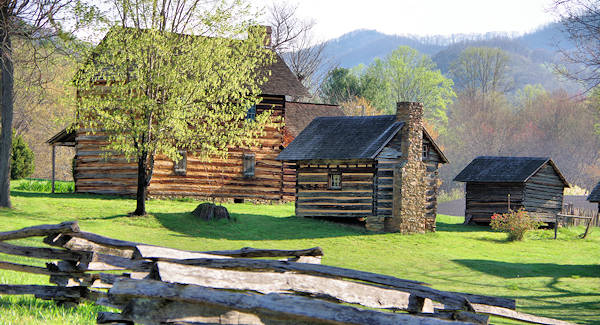 Weaverville Vance Birthplace