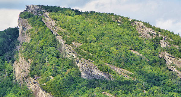 Hawksbill Mountain peak