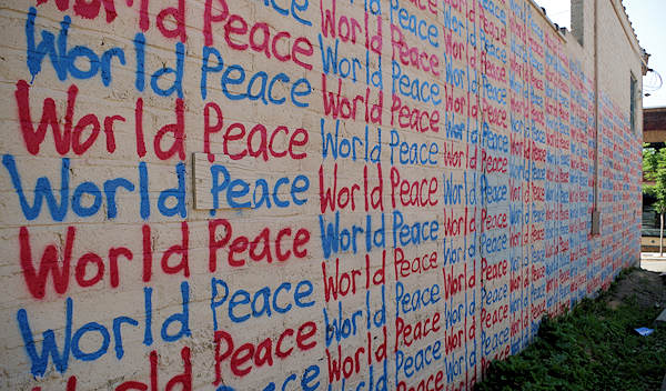 World Piece Mural, Asheville