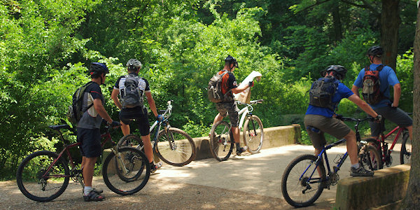 Bent Creek Mountain Bike Trails & Lake Powhatan