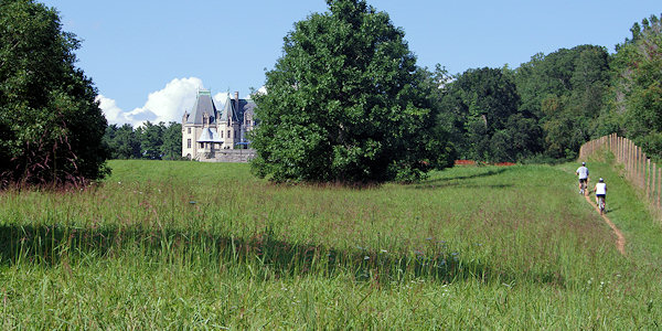 Biltmore Estate Hiking, Biking and Outdoors