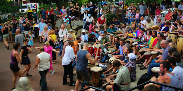 Asheville Drumming Circle