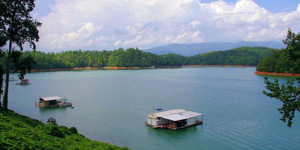 Fontana Lake & Dam