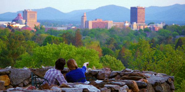 Built In 1913 With Granite Stones Mined From Its Sunset Mountain Grove Park Provides Majestic Views Of The Blue Ridge Mountains And Downtown Asheville
