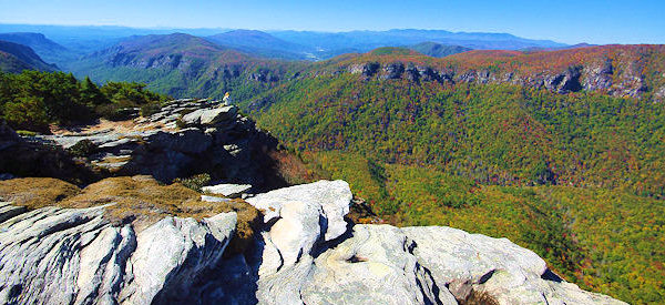 Hawksbill Mountain Hiking Trail Linville Gorge