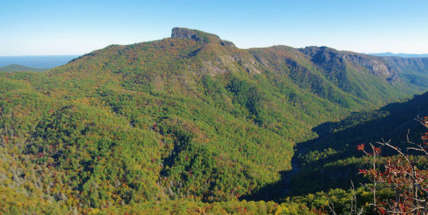 Table Rock Mountain Hiking Trail, Linville Gorge