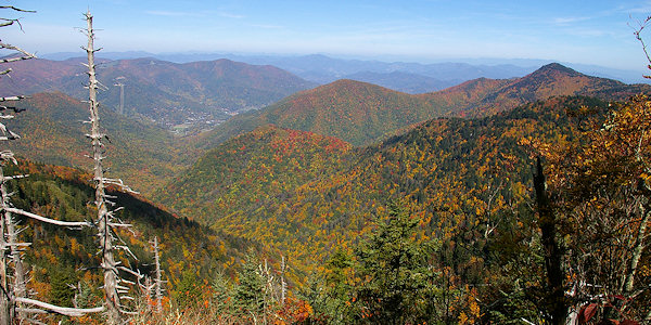 Waterrock Knob on Blue Ridge Parkway, North Carolina