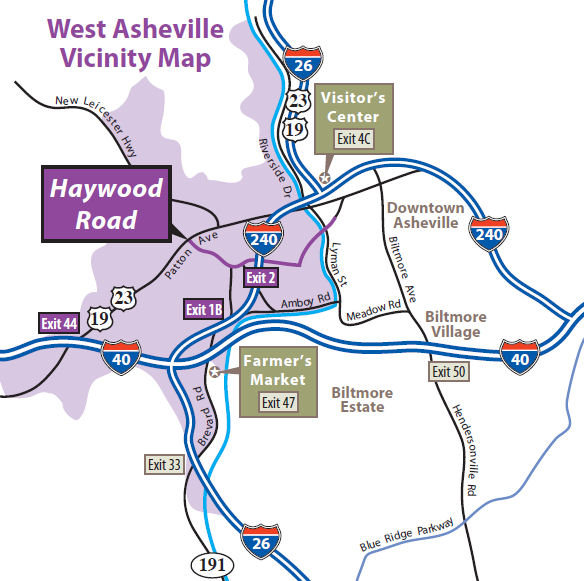 West Asheville Guide Restaurants