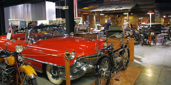 Wheels Through Time Motorcyle & Car Museum