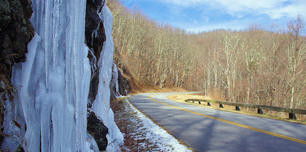 Winter Hike on the Blue Ridge Parkway
