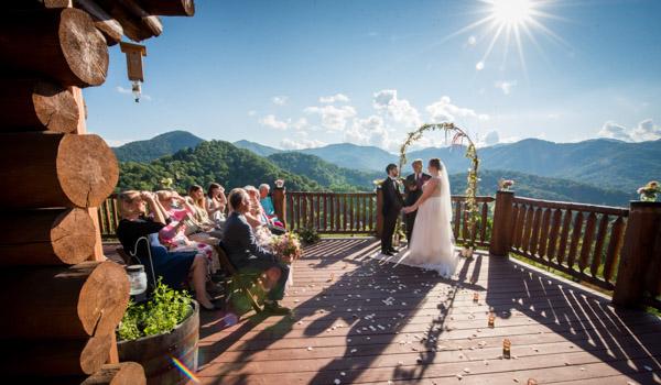 Outdoor Wedding Reception Pavillion